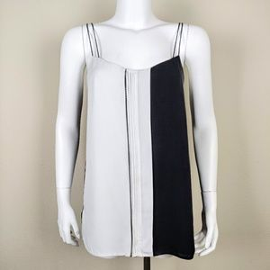 VINCE black and white dress cami sleeveless top
